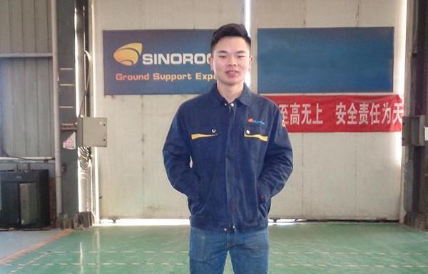 Si Haitao —— A Responsible and Vigorous CNC Lathe Operator in Sinorock®