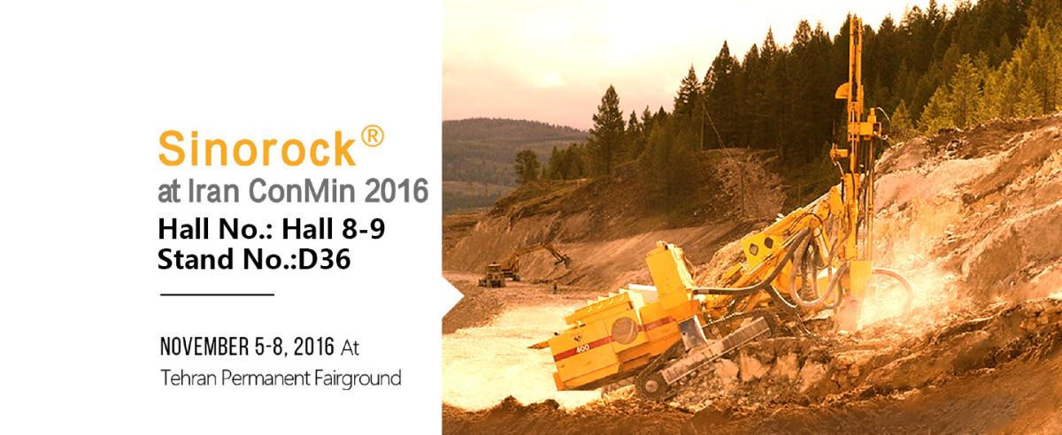 Sinorock® Will Attend Iran ConMin 2016